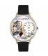 Whimsical Watches Unisex Physical Therapist in Silver Watch U0620022 - Main Image Swatch