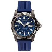 Victorinox Swiss Army Men's Dive Master 241425 Blue Rubber Automatic Watch