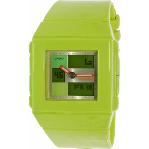 Casio Women's Baby-G BGA200-3E Green Resin Quartz Watch