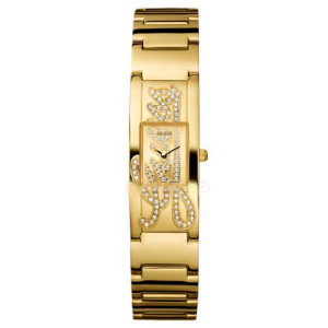 Guess Women's W10583L1 Gold Rubber Quartz Watch