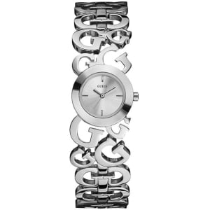Guess Women's W85061L1 Silver Stainless-Steel Quartz Watch