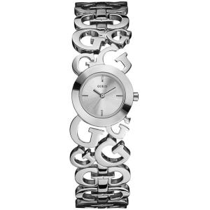 Guess Women's W85061L1 Silver Stainless-Steel Quartz Watch