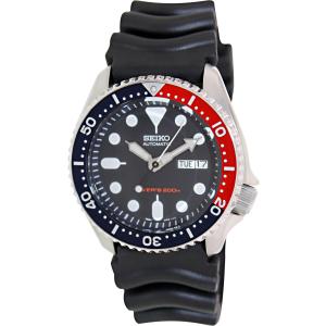 Seiko Men's Automatic SKX009K Black Rubber Automatic Watch