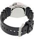 Seiko Men's Automatic SKX009K Black Rubber Automatic Watch - Back Image Swatch