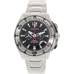 Nautica Men's N31517G Silver Stainless-Steel Quartz Watch
