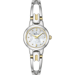 Bulova Women's 98L141 Silver Stainless-Steel Quartz Watch