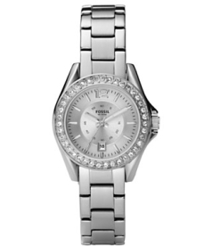 Fossil Women's ES2879 Silver Stainless-Steel Quartz Watch
