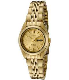 Seiko Women's 5 Automatic SYMA38K Gold Gold Tone Stainles-Steel Automatic Watch