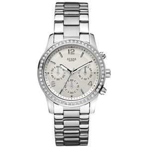 Guess Women's U13593L1 Silver Stainless-Steel Quartz Watch