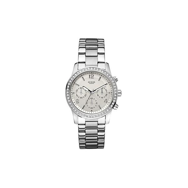 Guess Women's U13593L1 Silver Stainless-Steel Quartz Watch