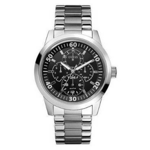 Guess Men's W11562G3 Black Stainless-Steel Quartz Watch