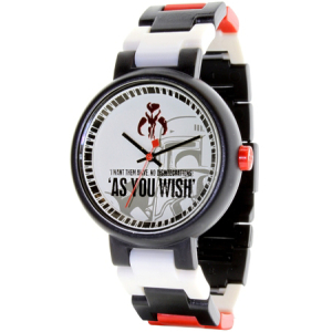 Lego Men's Star Wars 3408STW9 White Plastic Quartz Watch