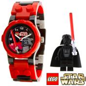 Lego Children's Star Wars 9002908 Black Plastic Quartz Watch