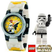 Lego Children's Star Wars 9002922 Yellow Plastic Quartz Watch