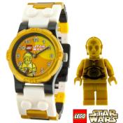 Lego Children's Star Wars 9002960 Yellow Plastic Quartz Watch