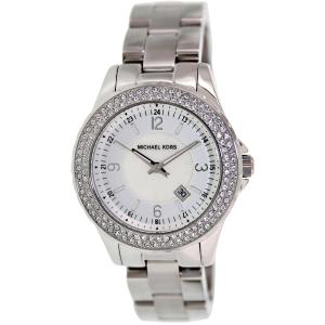 Michael Kors Women's Madison MK5401 Mother-Of-Pearl Stainless-Steel Quartz Watch