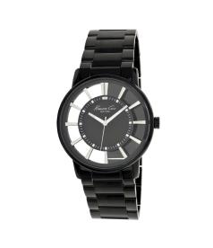 Kenneth Cole Men's Transparency KC3994 Black Stainless-Steel Quartz Watch