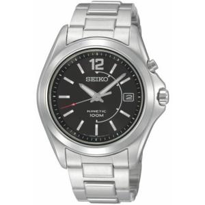 Seiko Men's SKA477 Silver Stainless-Steel Quartz Watch