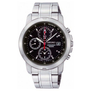 Seiko Men's SNDB03 Silver Stainless-Steel Quartz Watch