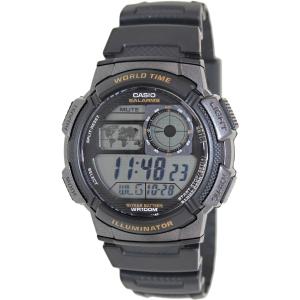 Casio Men's Illuminator AE1000W-1AV Black Resin Quartz Watch
