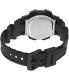 Casio Men's Illuminator AE1000W-1AV Black Resin Quartz Watch - Back Image Swatch