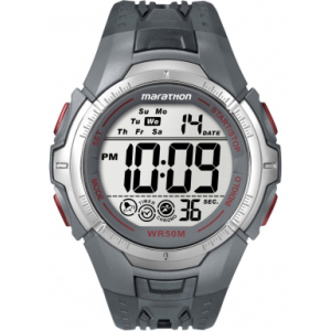 Timex Men's T5K358 Digital Rubber Quartz Watch