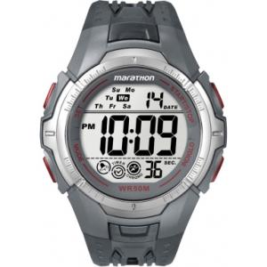Timex Men's T5K358 Digital Rubber Quartz Watch
