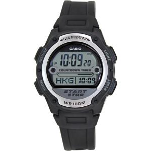 Casio Men's Core W756-1AV Black Resin Quartz Watch