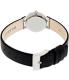 Skagen Women's Classic 358XSSLBC Silver Leather Quartz Watch - Back Image Swatch