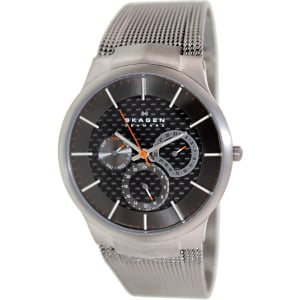 Skagen Men's Black Label 809XLTTM Grey Stainless-Steel Quartz Watch