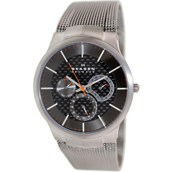 Skagen Men's Black Label 809XLTTM Grey Stainless-Steel Quartz Watch