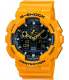 Casio Men's G-Shock GA100A-9A Black Resin Quartz Watch - Main Image Swatch