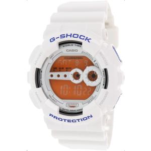 Casio Men's G-Shock GD100SC-7 White Resin Quartz Watch