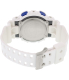 Casio Men's G-Shock GD100SC-7 White Resin Quartz Watch - Back Image Swatch