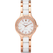 Dkny Women's NY8141 White Ceramic Quartz Watch