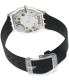 Swatch Women's Skin SFK361 Black Silicone Swiss Quartz Watch - Back Image Swatch