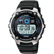 Casio Men's Core AE2000W-1AV Black Resin Quartz Watch