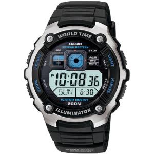 Casio Men's Core AE2000W-1AV Black Resin Quartz Watch