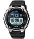 Casio Men's Core AE2000W-1AV Black Resin Quartz Watch - Main Image Swatch
