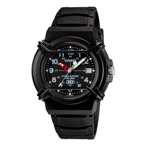 Casio Men's Core HDA600B-1BV Black Resin Quartz Watch
