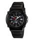 Casio Men's Core HDA600B-1BV Black Resin Quartz Watch - Main Image Swatch