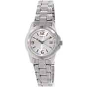 Casio Women's Core LTP1215A-7A Silver Stainless-Steel Analog Quartz Watch