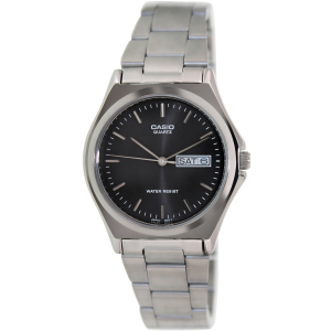 Casio Men's Core MTP1240D-1A Silver Stainless-Steel Quartz Watch