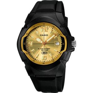 Casio Men's Core MW600F-9AV Black Resin Quartz Watch