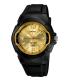 Casio Men's Core MW600F-9AV Black Resin Quartz Watch - Main Image Swatch