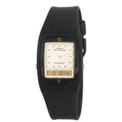 Casio Men's AQ47-9E Gold Polyurethane Quartz Watch
