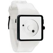 Nixon Men's Newton A116100 White Polyurethane Analog Quartz Watch