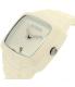 Nixon Men's Rubber Player A139100 White Silicone Quartz Watch - Side Image Swatch