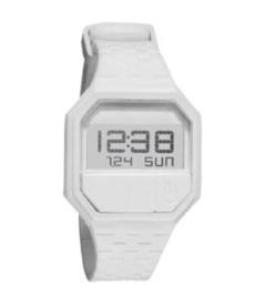 Nixon Men's Rubber Re-Run A169100 White Polyurethane Quartz Watch