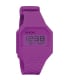 Nixon Men's Rubber Re-Run A169698 Purple Silicone Quartz Watch - Main Image Swatch